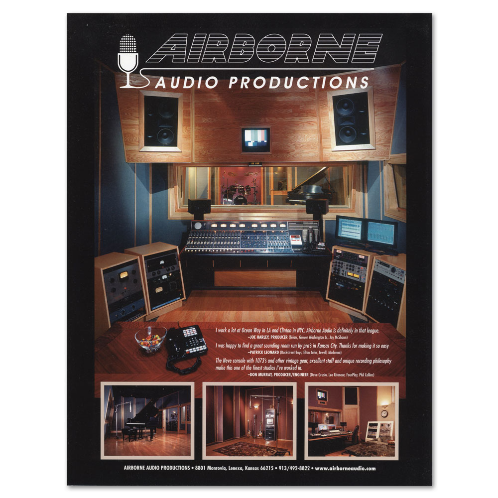 Airborne Audio flyer
