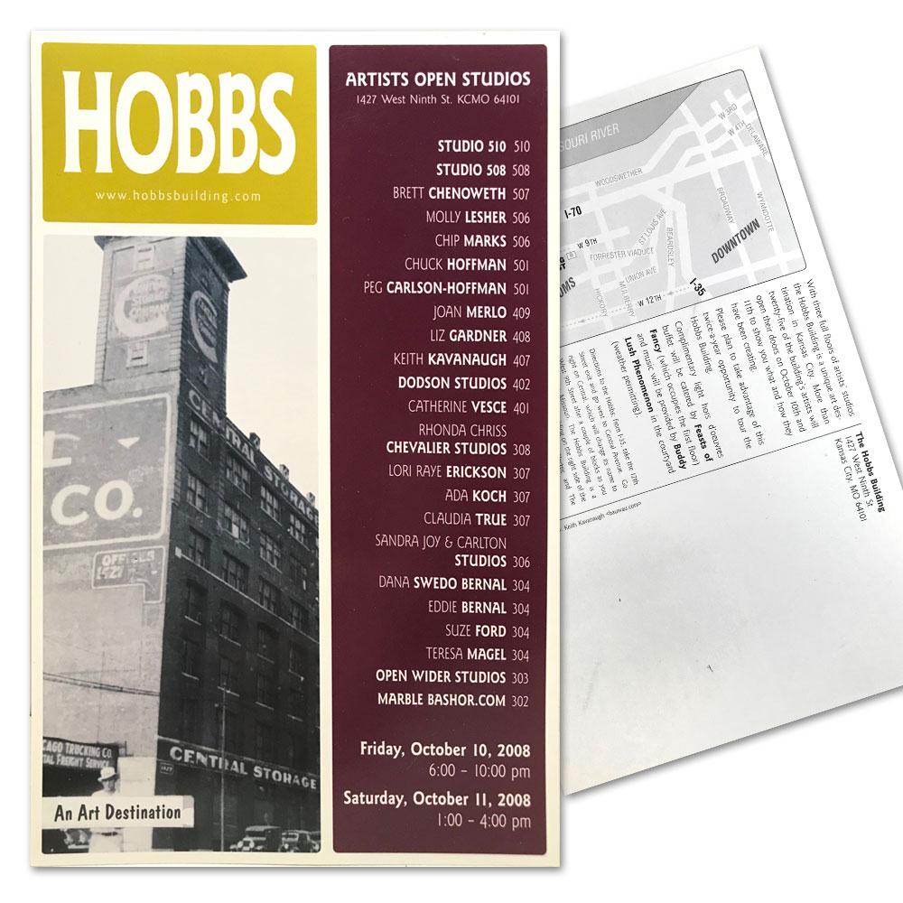 Hobbs Building Postcard